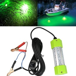 DC12V 70W/130W Dimmable LED Fish Submersible Underwater Fishing Light
