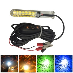 LED Underwater Fishing Light - 12-24V Dimmable Compact